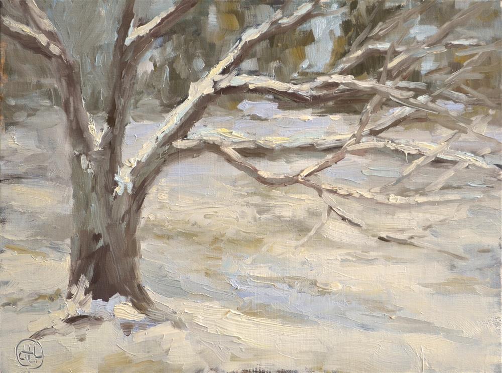 """branching out"" original fine art by Dottie  T  Leatherwood"