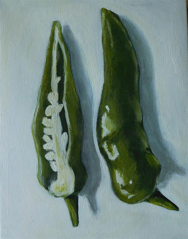"""Chilli Peppers"" original fine art by Daryl West"
