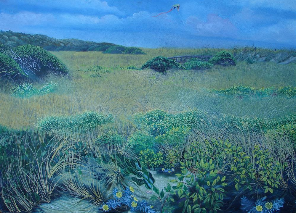 """Myrtle Beach State Park"" original fine art by Alan Mintz"