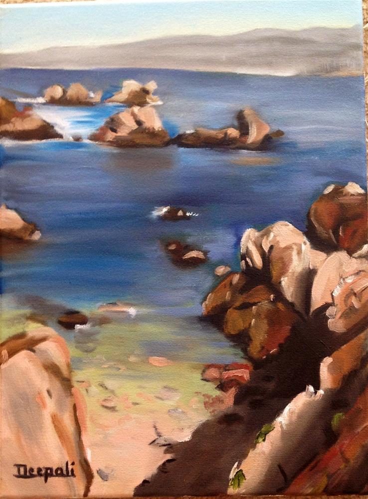 """Rocks"" original fine art by Dipali Rabadiya"