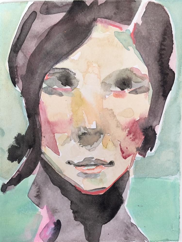 """""""193 Spectator"""" original fine art by Jenny Doh"""