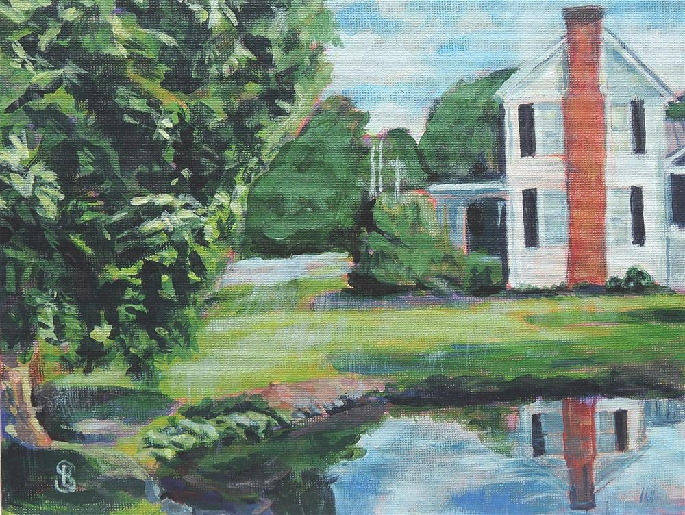 """Bircher Farm"" original fine art by Belinda Scheber"