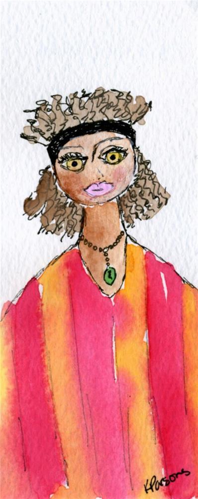 """""""Feelin' Fabulous"""" original fine art by Kali Parsons"""