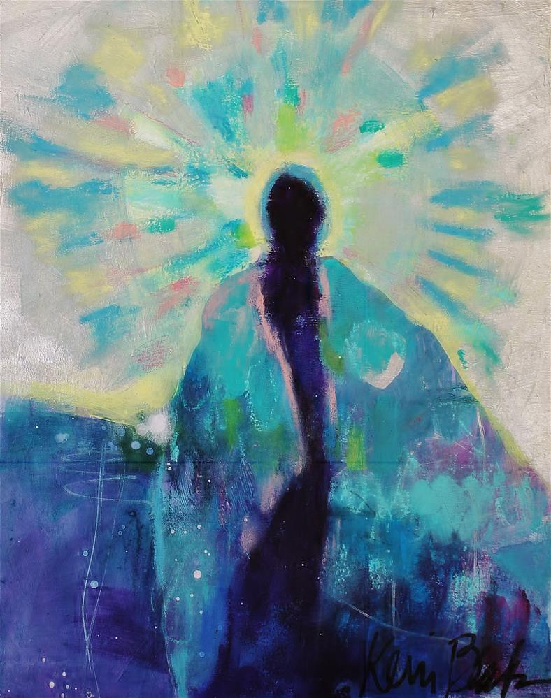 """The feathered Cloak "" original fine art by Kerri Blackman"