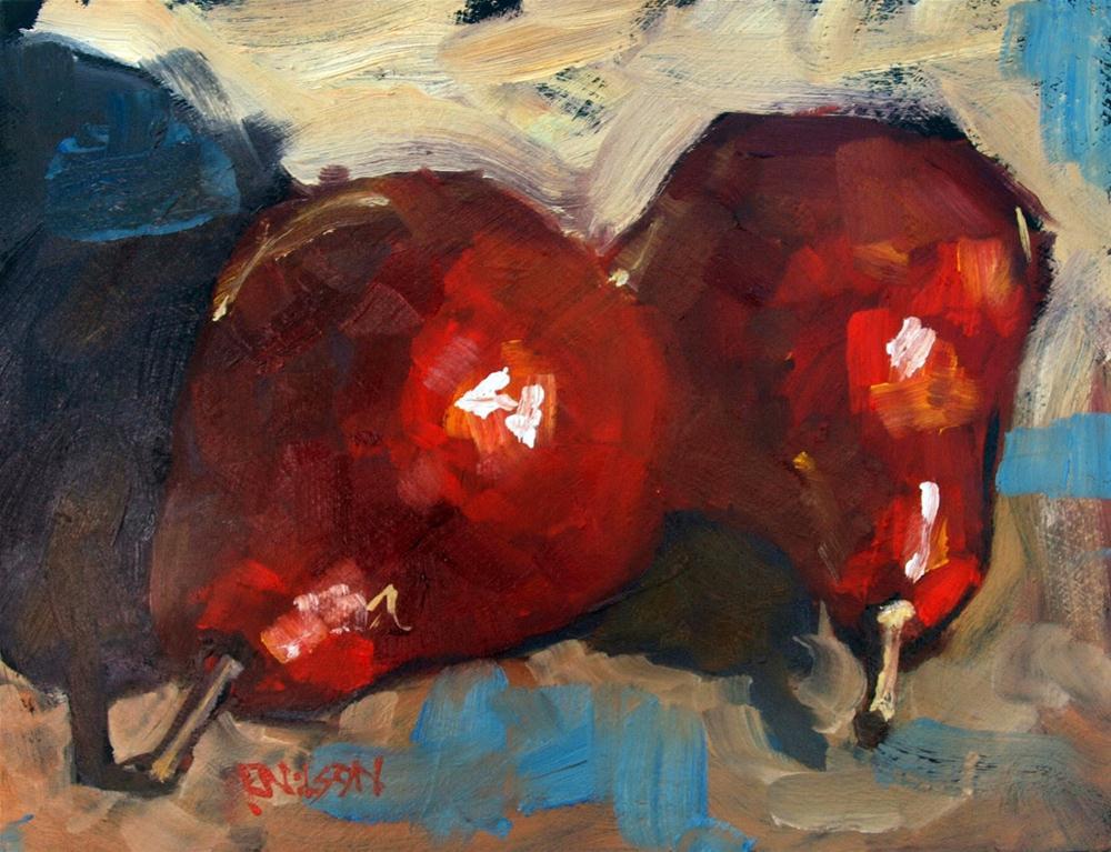 """Double Shuffle"" original fine art by Rick Nilson"