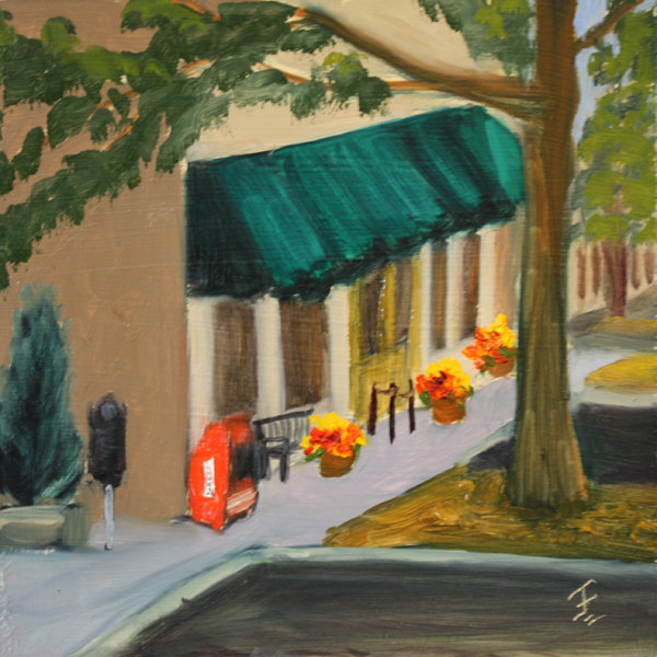 """Round Rock Chalk Walk 3"" original fine art by Jane Frederick"