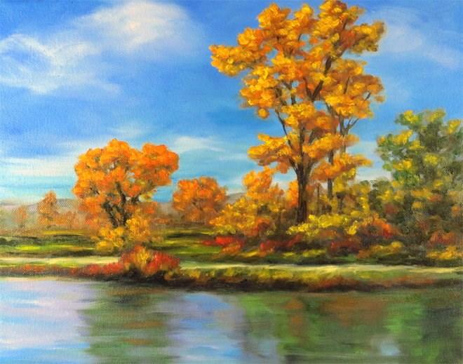 """Pathway to Beauty"" original fine art by Carol Zirkle"