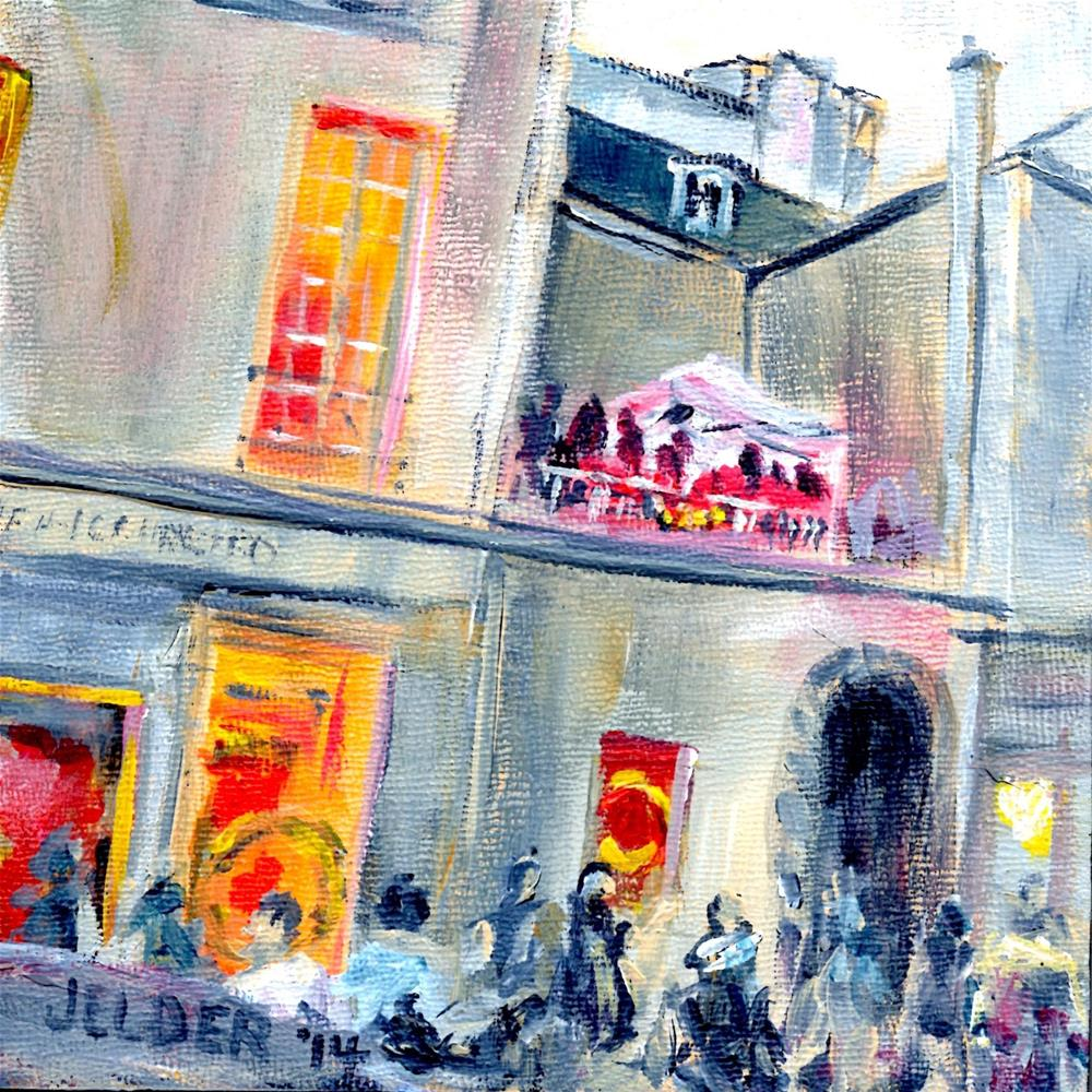 """Fete de la Musique, Paris No. 58"" original fine art by Judith Elder"