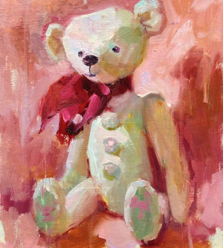 """Dandy "" original fine art by Emiliya Lane"