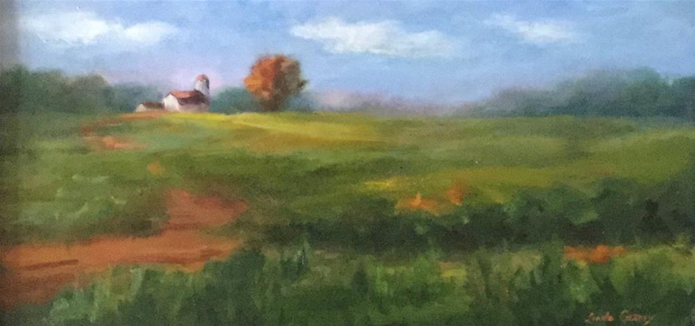"""A Peaceful Place"" original fine art by Linda Carney"