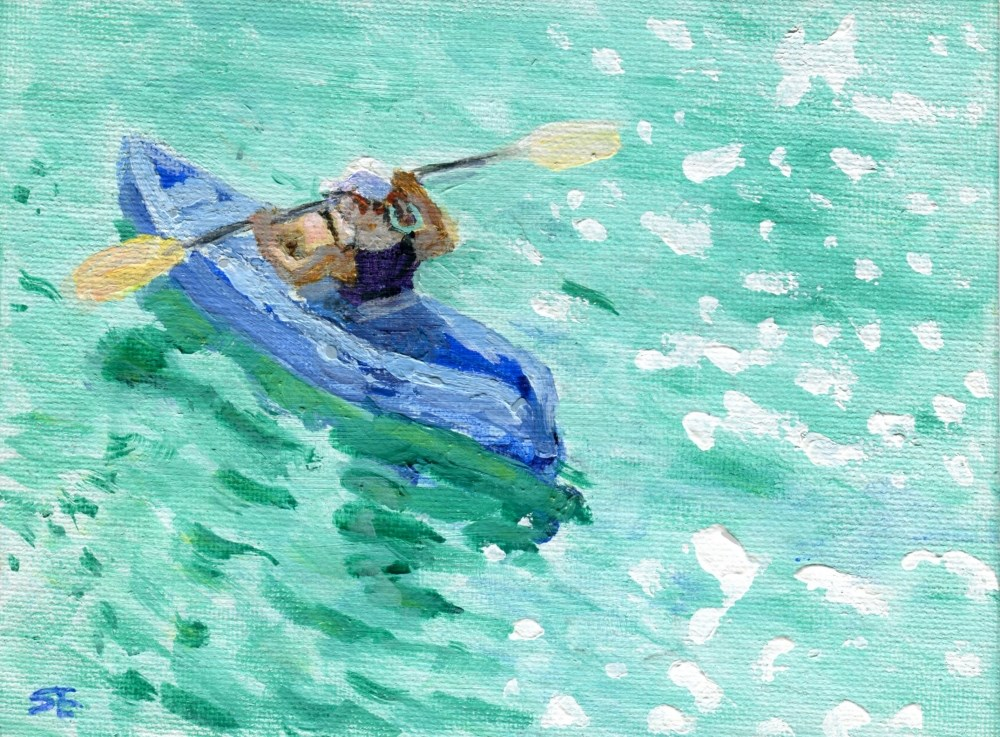 """Danse Du Soleil"" original fine art by Stanley Epperson"