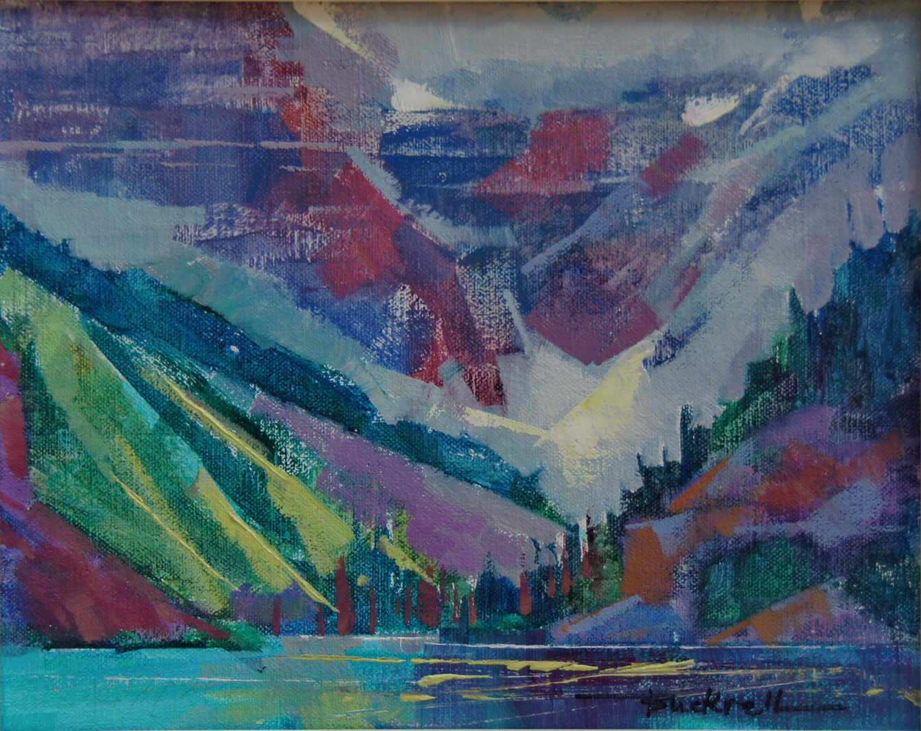 Lake Louise original fine art by Brian Buckrell