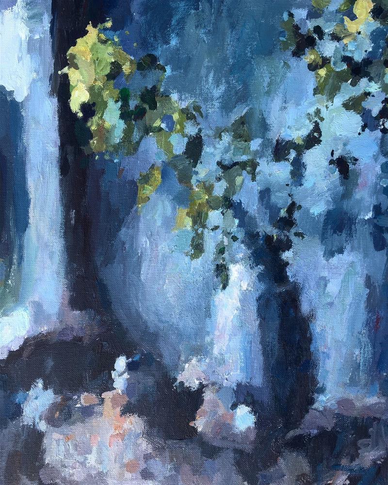 """Into the Light"" original fine art by Nava Judith"