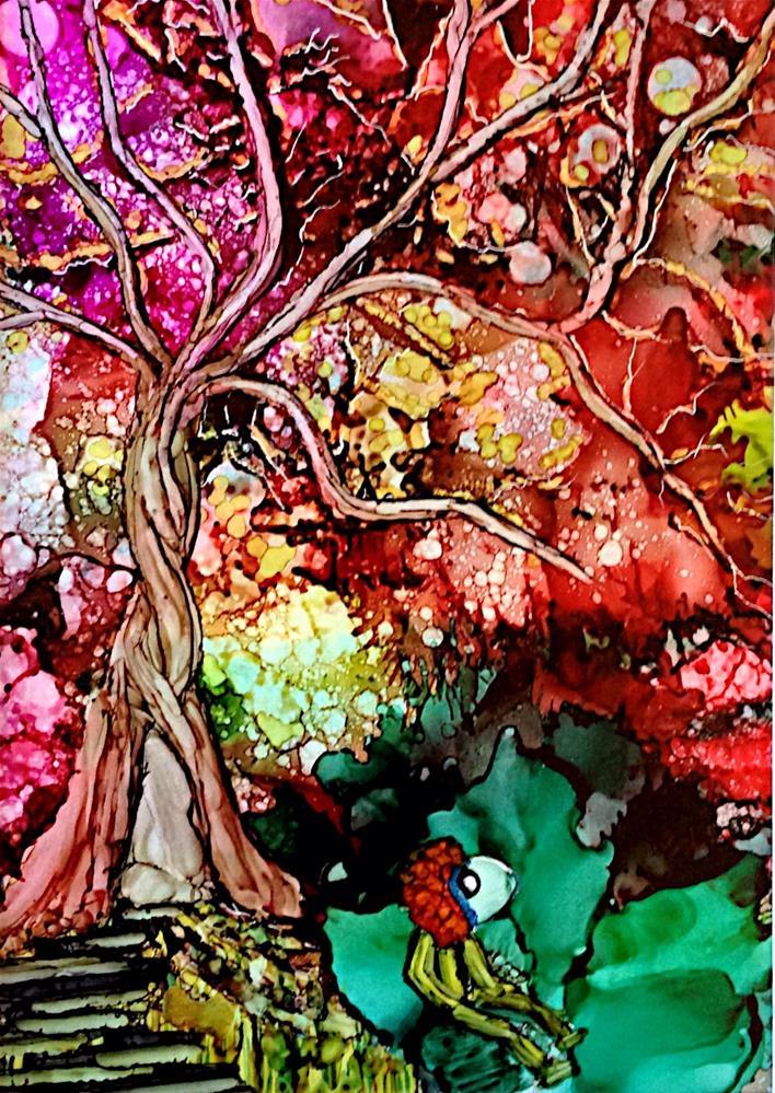 """We All Need Dreams...."" original fine art by Korinne Carpino"