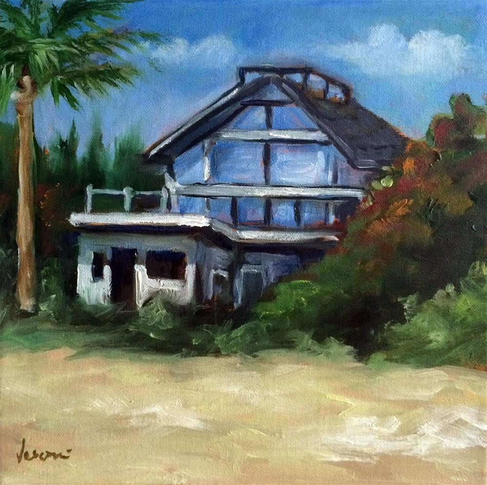 """""""The Beach House"""" original fine art by Valerie Vescovi"""