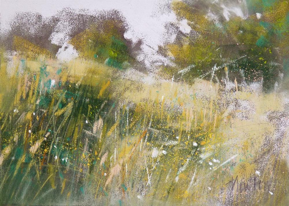 """""""Wild"""" original fine art by Barbara Benedetti Newton"""