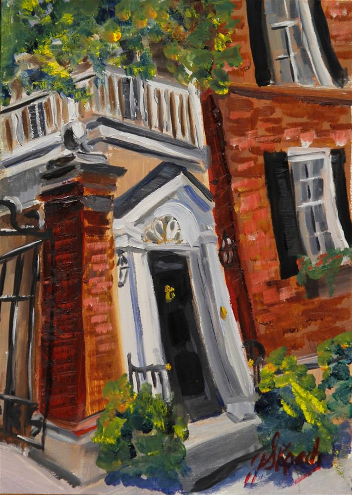 """Charleston Home"" original fine art by Jennifer Koach"