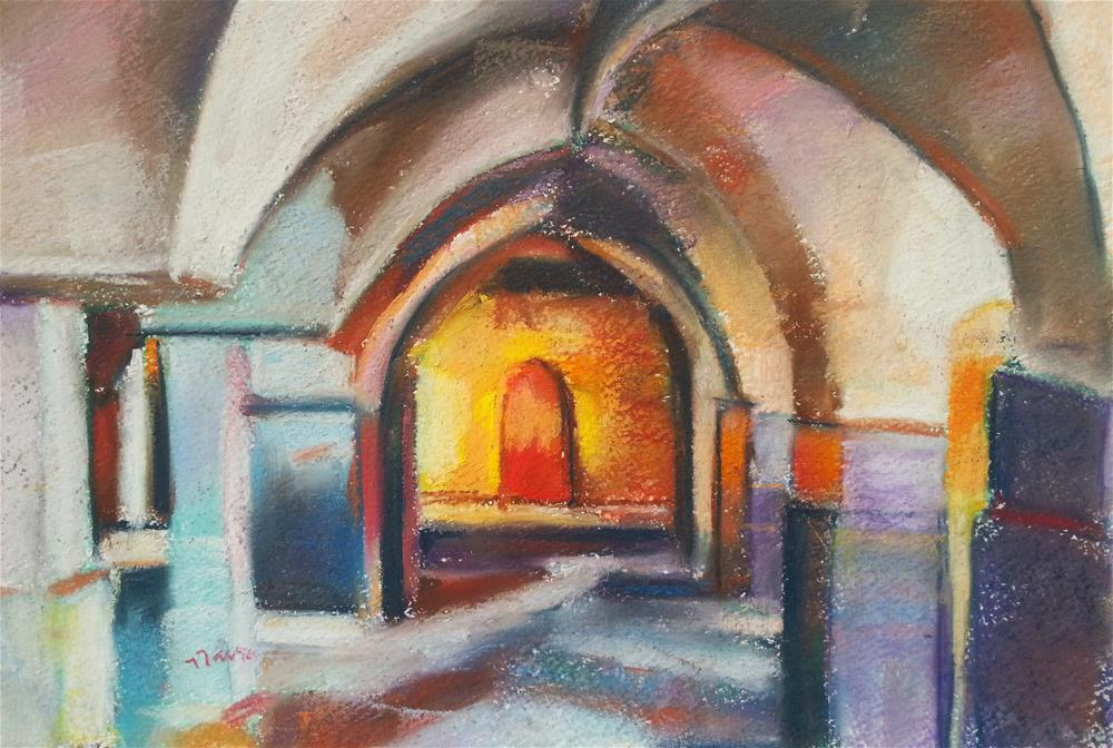 """Akko, Israel"" original fine art by Nava Judith"