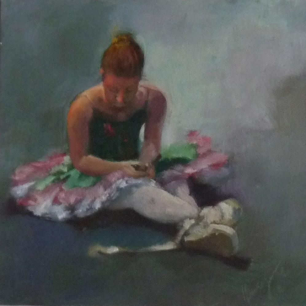 """Alone"" original fine art by Sharman Owings"