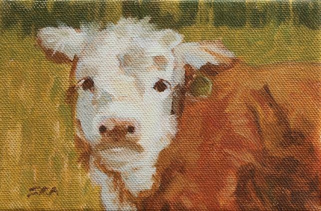 """Olaf"" original fine art by Susan Ashmore"