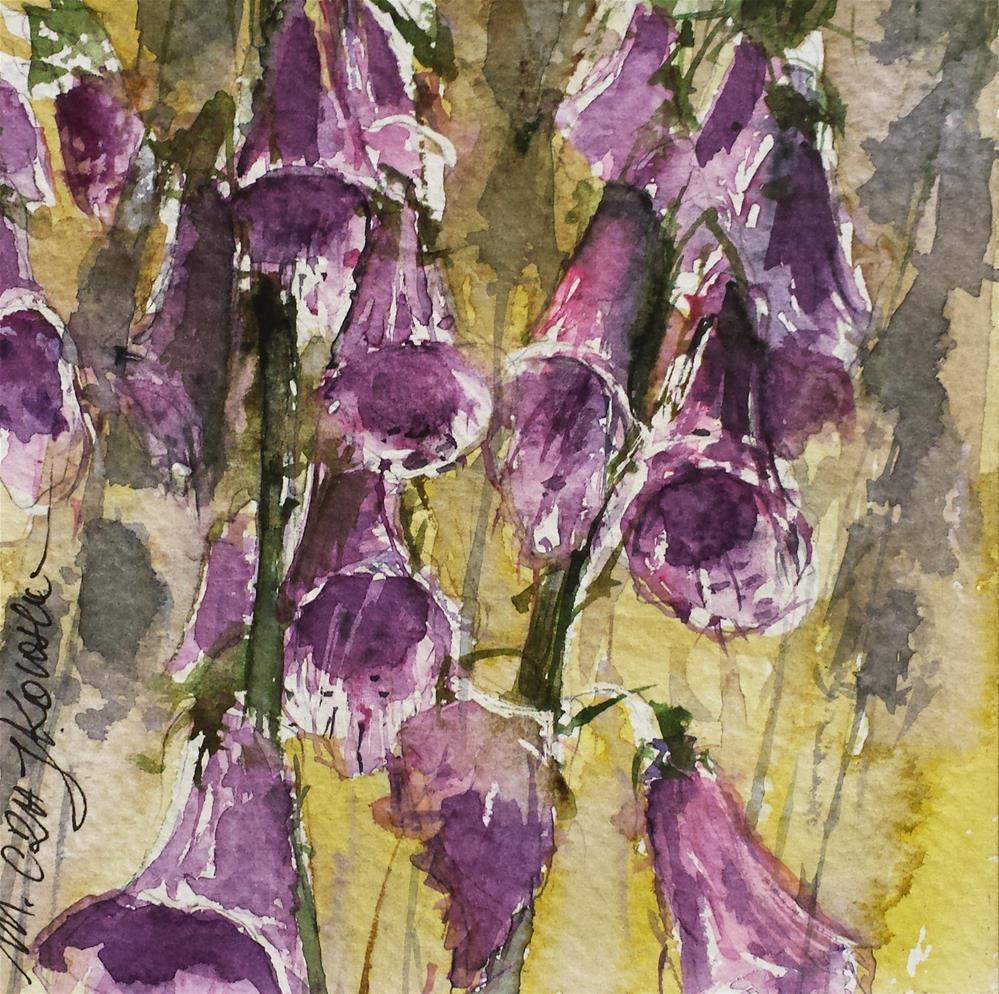 """Bells"" original fine art by Marlena Czajkowska"
