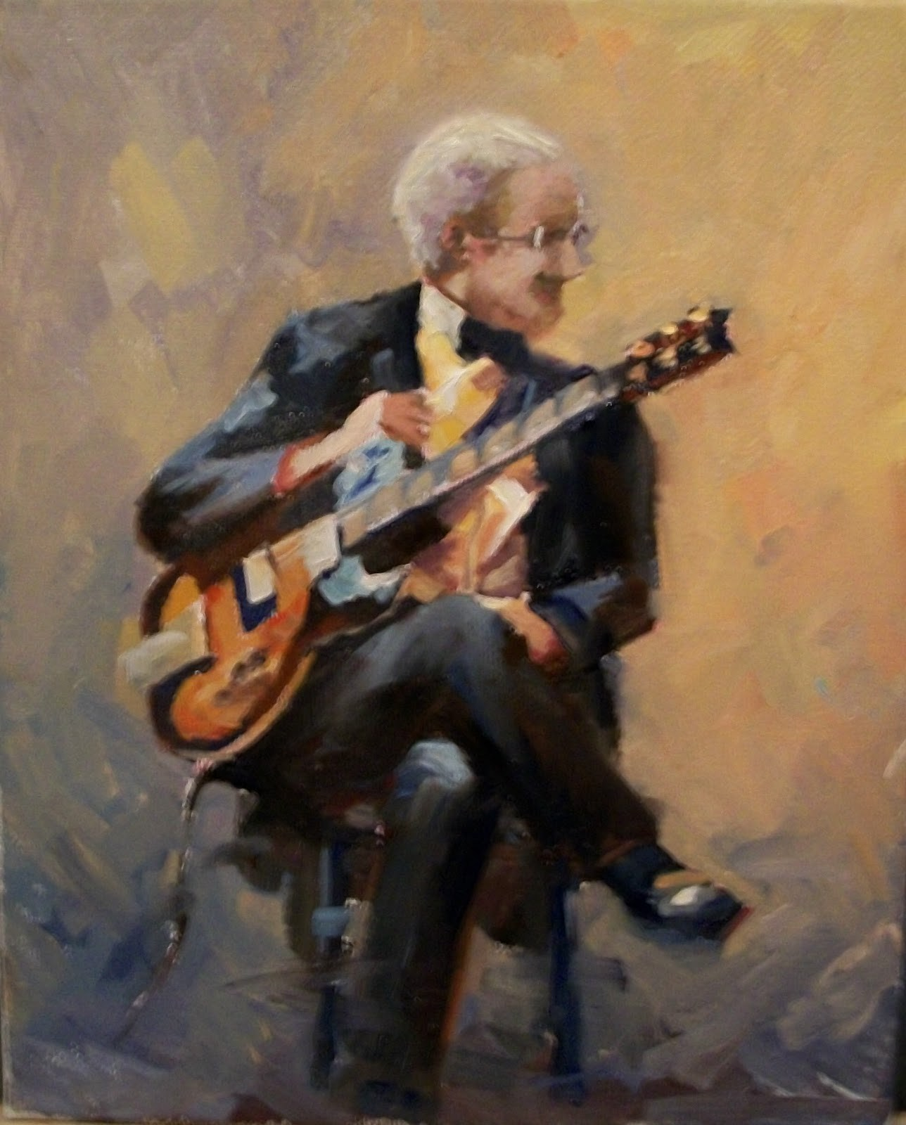 """BIG GIG "" original fine art by Doug Carter"