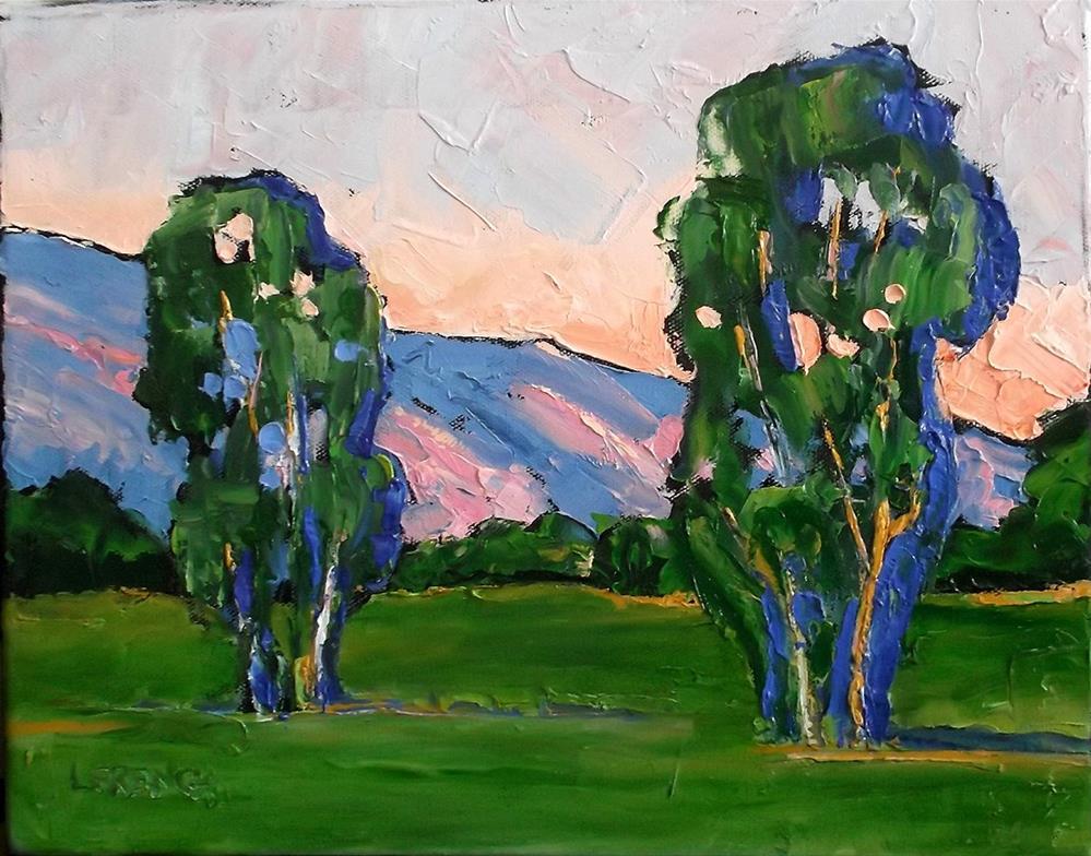 """California Eucalyptus"" original fine art by lynne french"