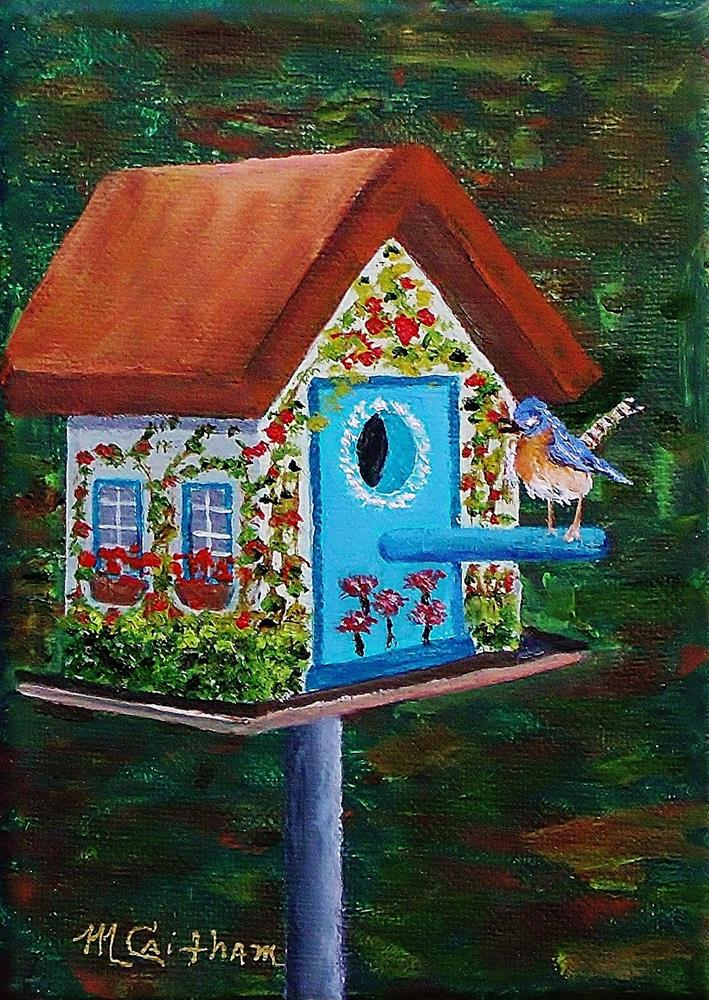 """Morning Bird"" original fine art by Mike Caitham"