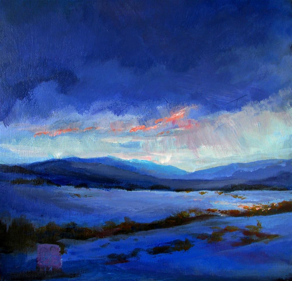 """""""Edge of Nocturne"""" original fine art by Aurelio Saiz"""