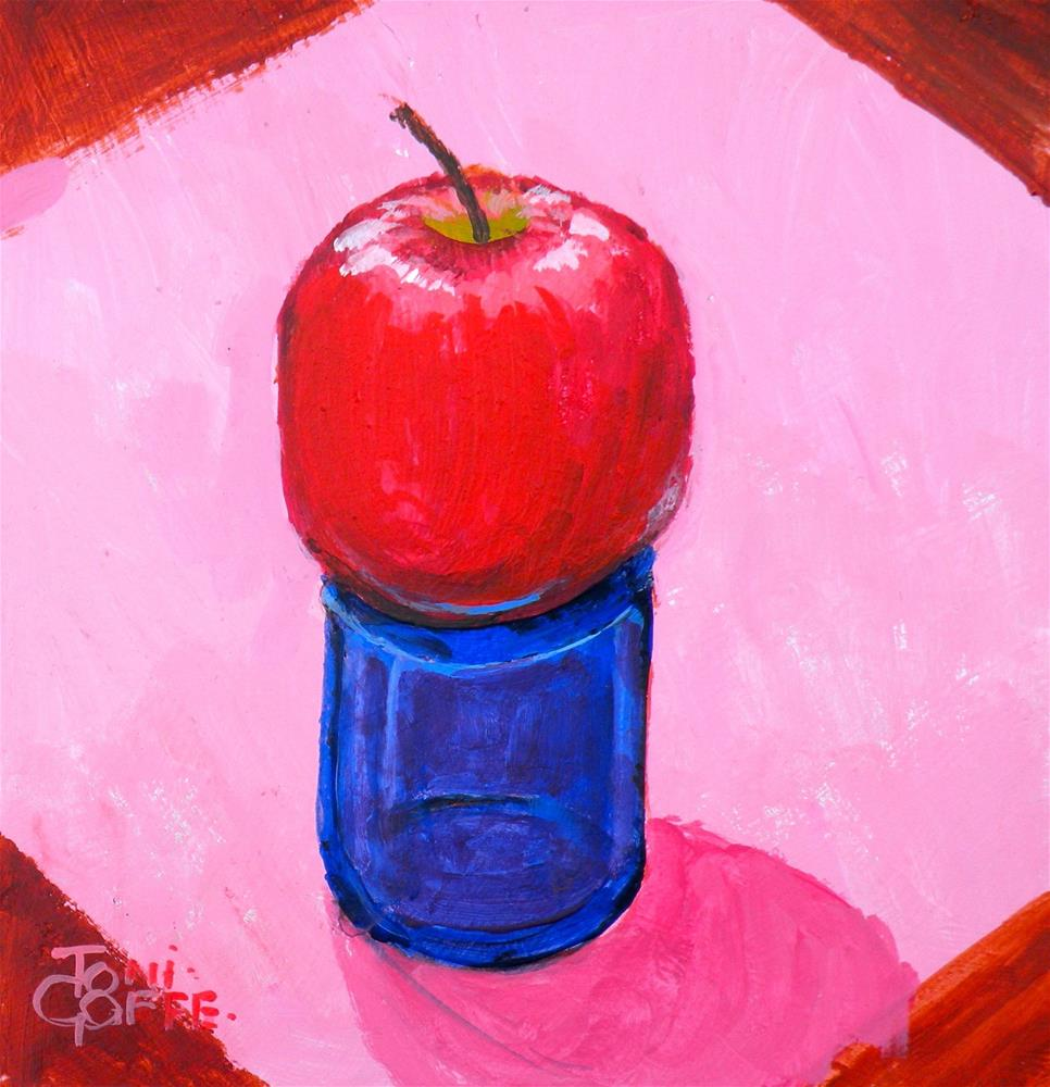 """The Pedistal"" original fine art by Toni Goffe"