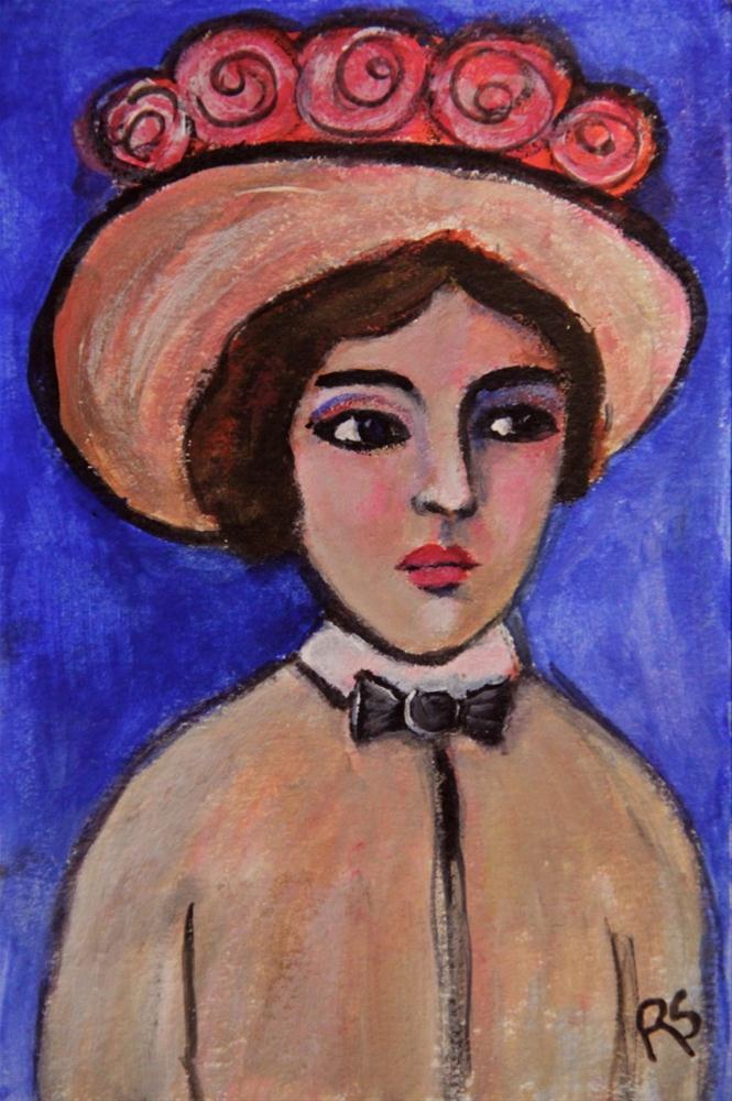 """""""Tess"""" original fine art by Roberta Schmidt"""