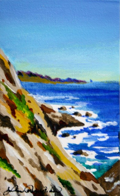 """Steep"" original fine art by JoAnne Perez Robinson"