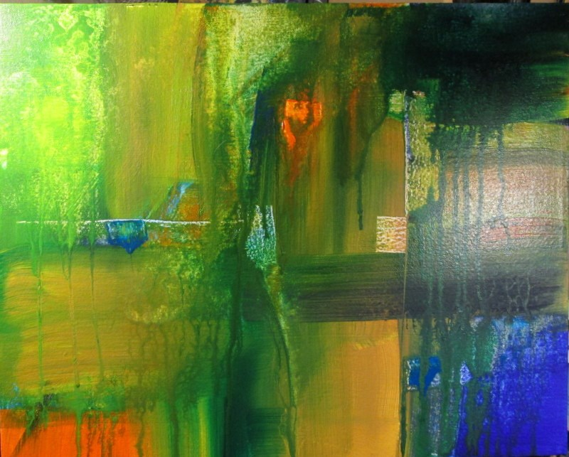 """High View"" original fine art by Norm Rossignol"