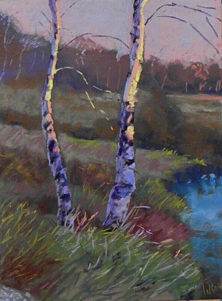 """""""In the light"""" original fine art by Toby Reid"""