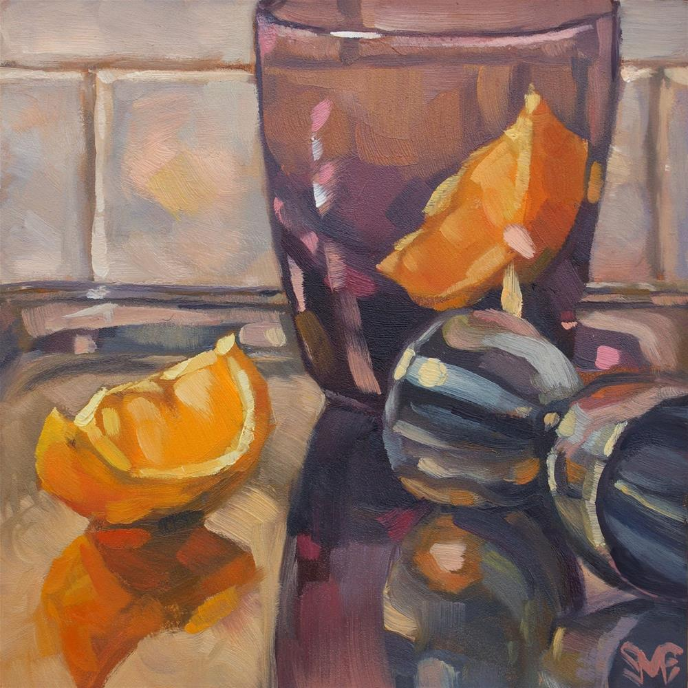 """Lemon Jigger"" original fine art by Sheila Evans"