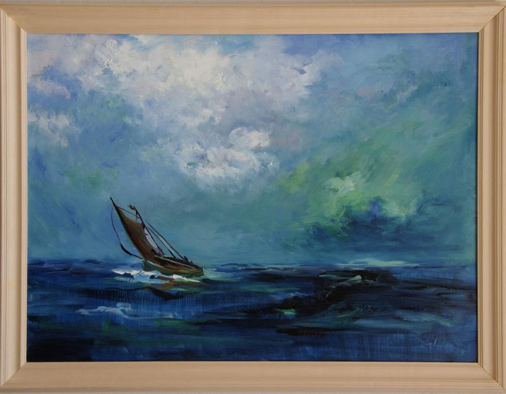 """Going Home"" original fine art by Diane Lloyd"
