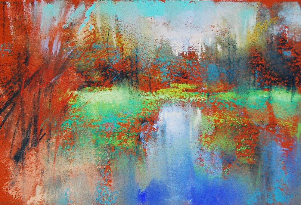 """Water Sketch"" original fine art by Marla Baggetta"