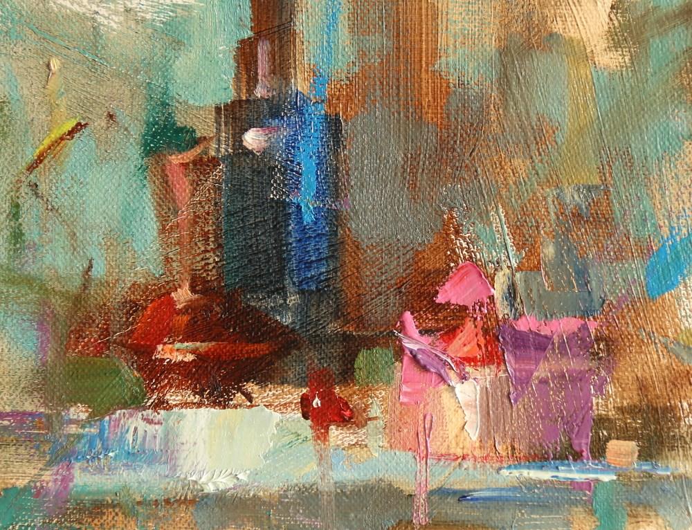 """Poetic Colors"" original fine art by Qiang Huang"