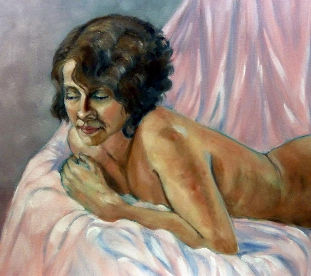 """Figurative Study"" original fine art by Helene Adamson"