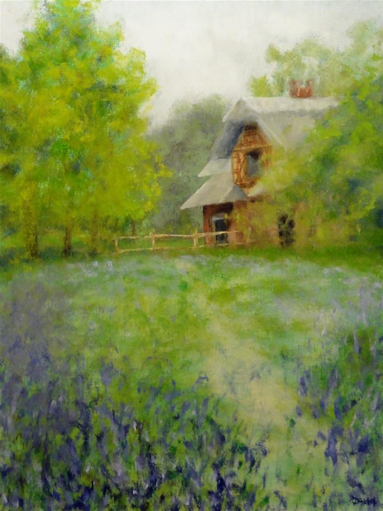 """Queens Cottage, Kew Gardens, London England"" original fine art by Dalan Wells"