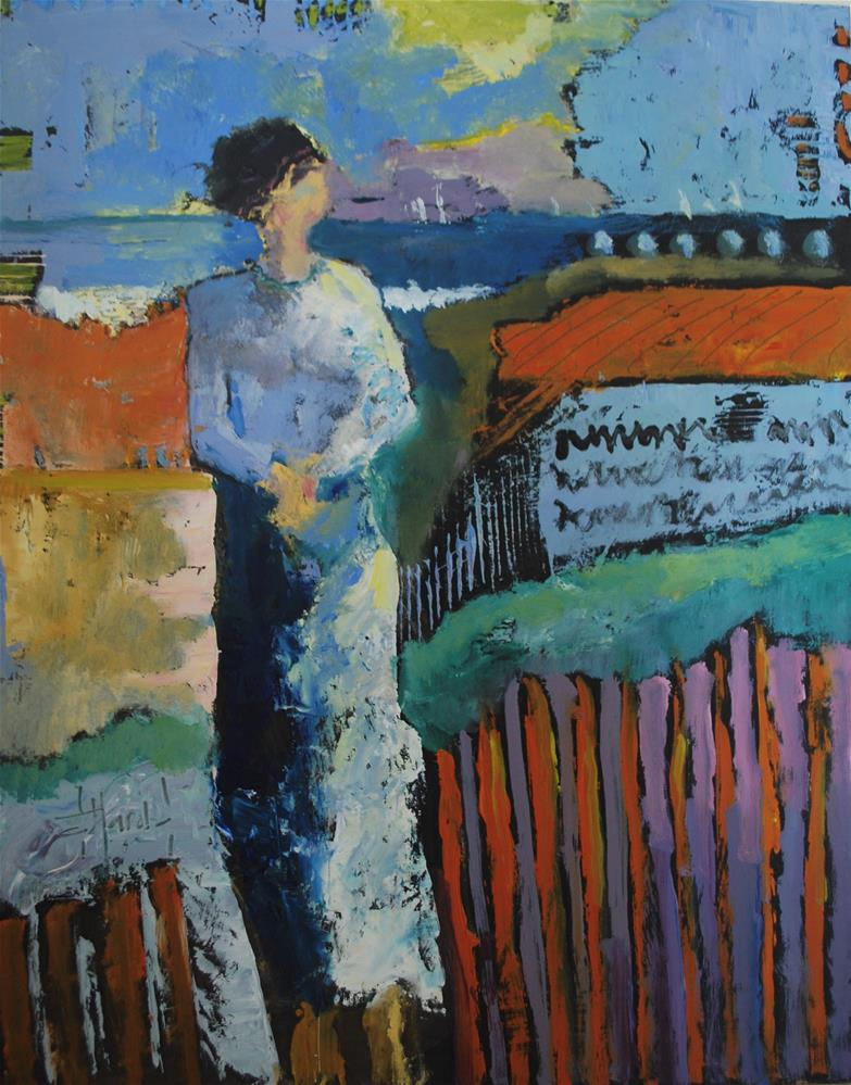 """The Summer Wind"" original fine art by Deborah Harold"