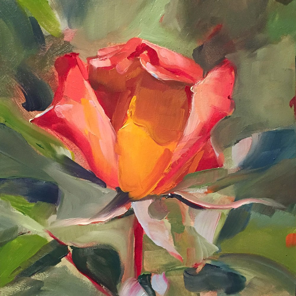 """fleur"" original fine art by Kim Smith"