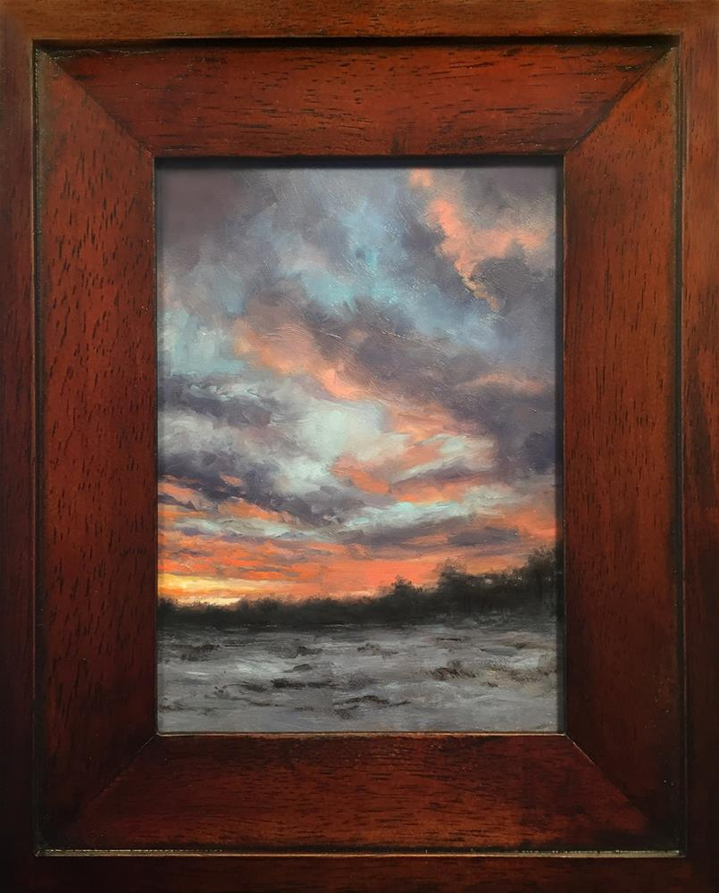 """Evening Sky"" original fine art by Danny O'Leary"