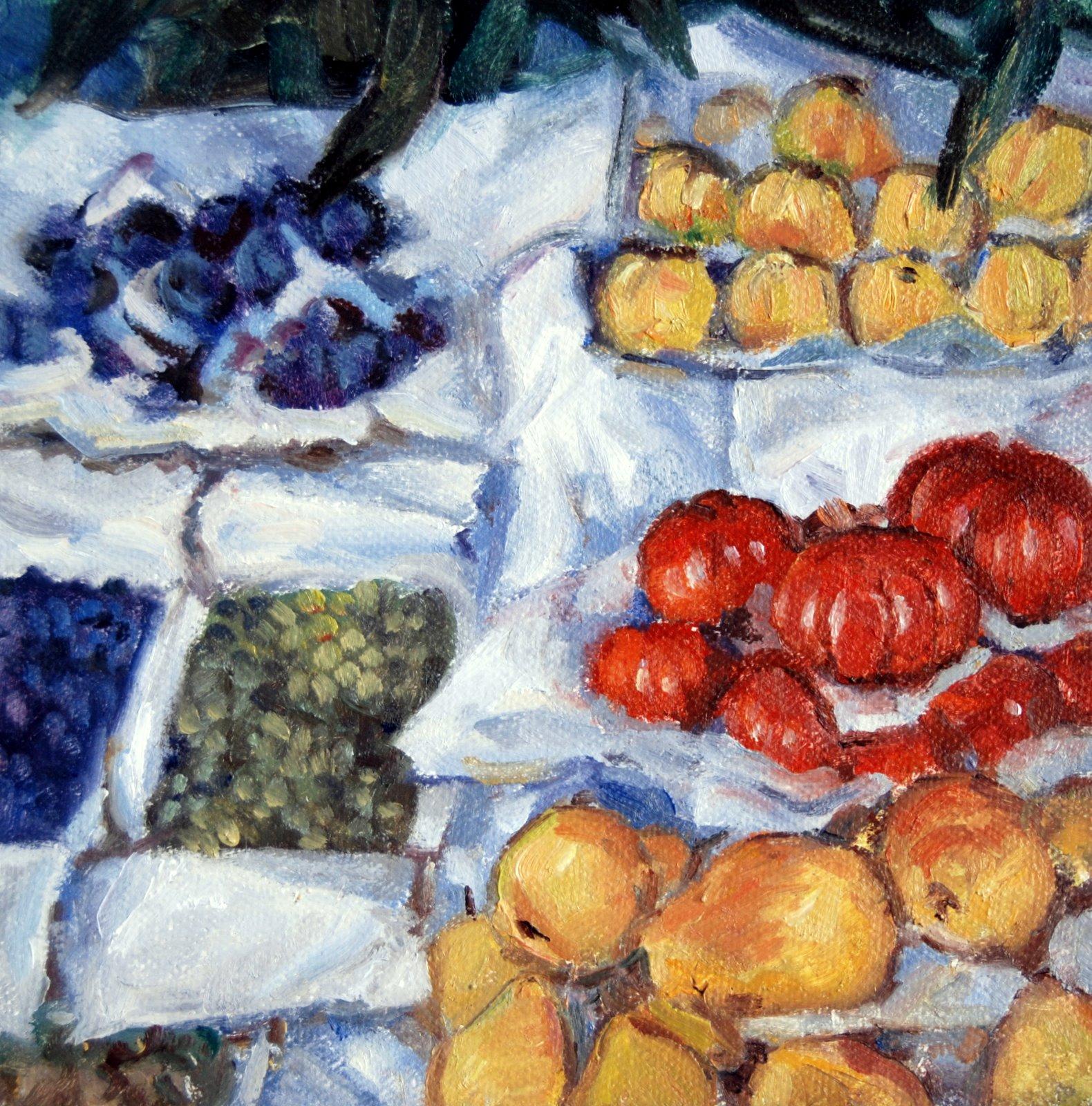 Caillebotte Copy original fine art by Julie Ford Oliver