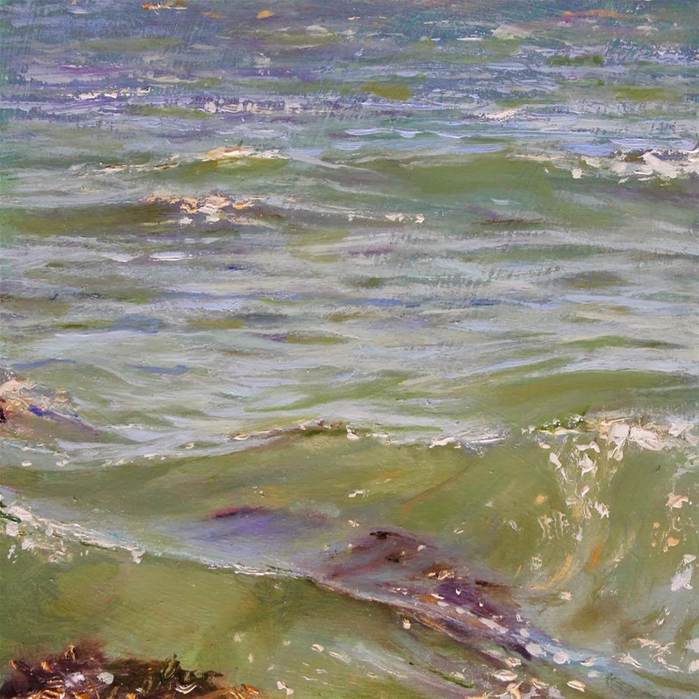 """Surface Value"" original fine art by Ken Devine"