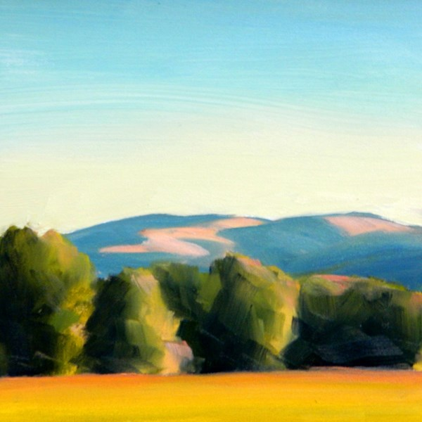 """Looking Toward Mt. Ascension"" original fine art by Carolyn Caldwell"