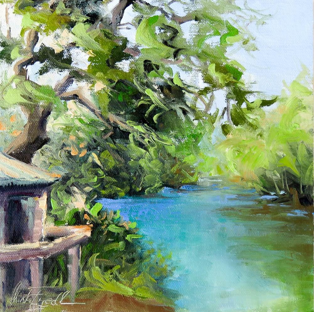 """Snook Haven"" original fine art by Christa Friedl"