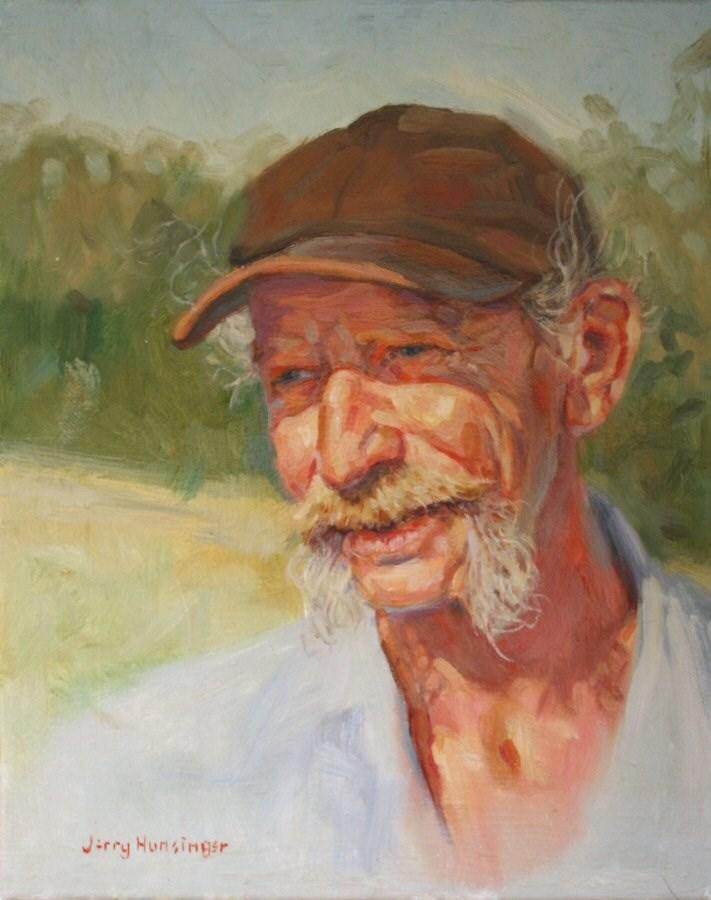 """Paul"" original fine art by jerry hunsinger"