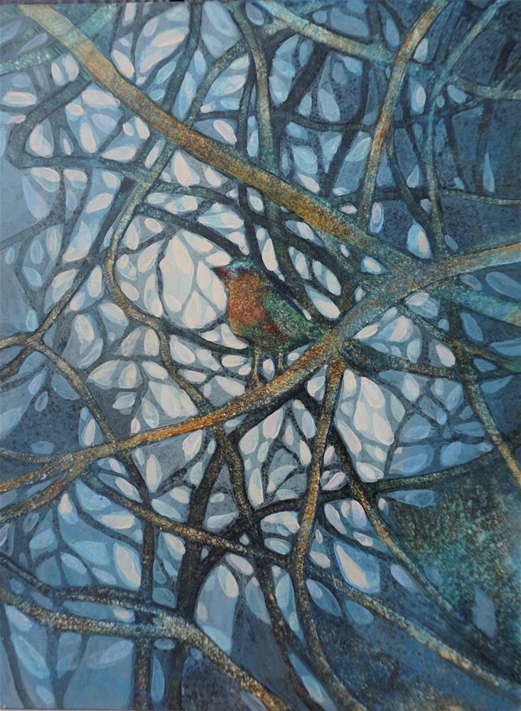 """In Branches"" original fine art by Larisa Nikonova"