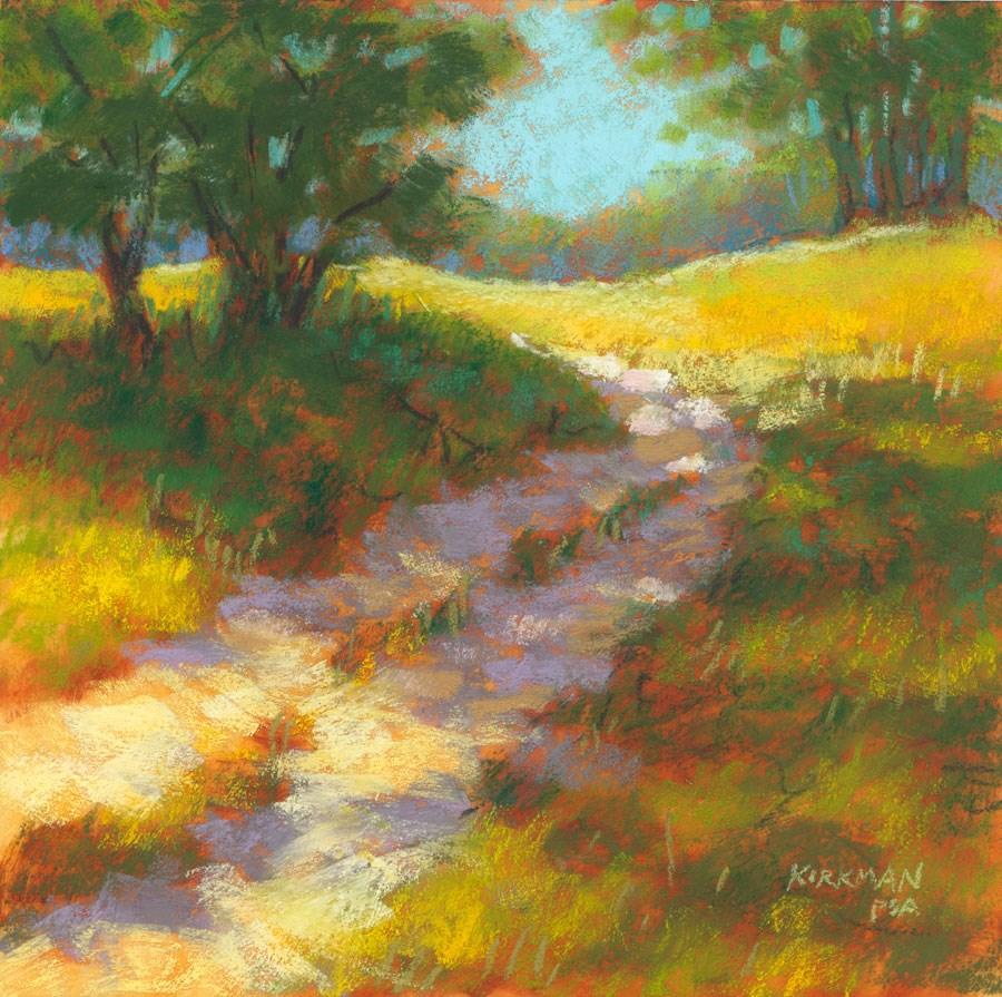 """Ranch Road #20"" original fine art by Rita Kirkman"